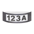 Rabalux 8748 - Zunanja stenska svetilka INNSBRUCK 1xE27/14W antracit IP44