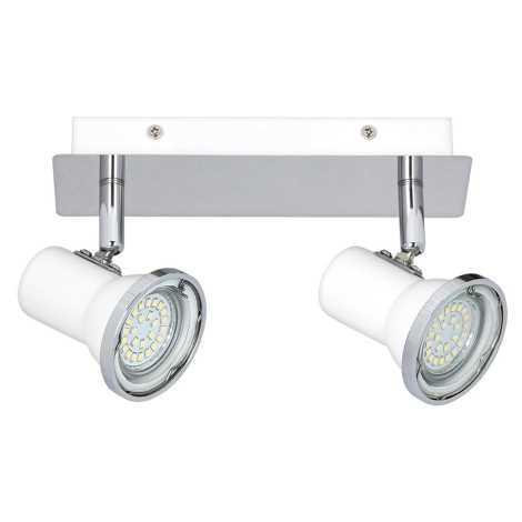 Rabalux - LED Kopalniški Reflektor 2xGU10/4,5W/230V IP44