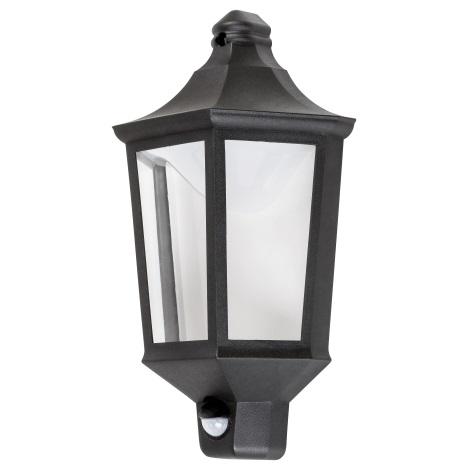 Rabalux - LED Zunanja Stenska svetilka s senzorjem LED/8W/230V IP44 500lm 3000K