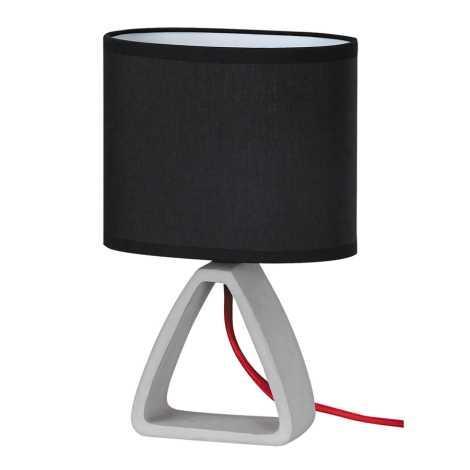 Rabalux - Namizna svetilka 1xE14/40W/230V črna