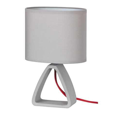 Rabalux - Namizna svetilka 1xE14/40W/230V siva