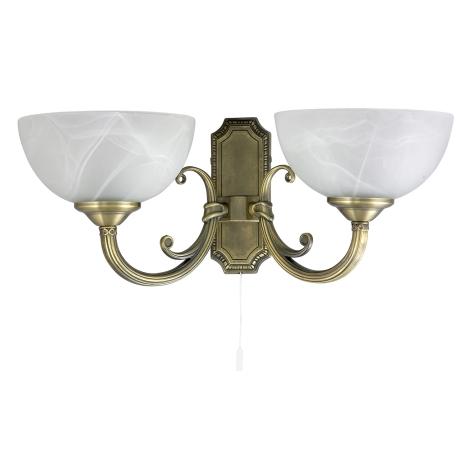 Rabalux - Stenska svetilka 2xE14/40W/230V