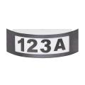 Rabalux - Zunanja Stenska svetilka 1xE27/14W antracit IP44