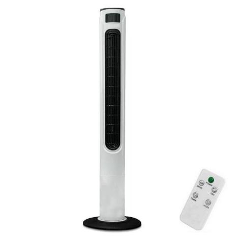 Stebrni ventilator s kazalcem temperature z daljinskim upravljalnikom 55W/230V