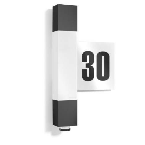 STEINEL 020378 - LED zunanja svetilka s senzorjem L630LED LED/8,2W/230V IP44
