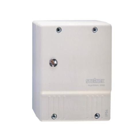 STEINEL 550615 - Stikalo za mrak NightMatic 3000 Vario belo IP54