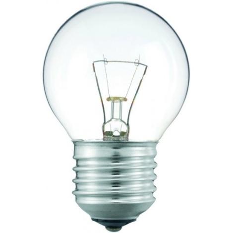 Svetleča žarnica E27/25W prozorna