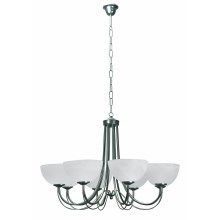 Top Light 80/8/K/Č - Lestenec na verigi K 8xE14/60W/230V