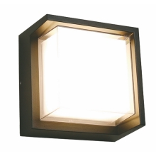 Top Light Malaga H - LED Zunanja stenska svetilka LED/8W/230V IP54