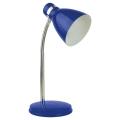 Top Light - Namizna svetilka STUDENT 1xE14/25W/230V modra
