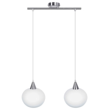 Top Light - Obesna svetilka 1519/2/K 2xE27/60W