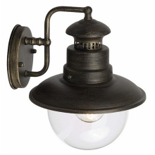 Top Light - Zunanja stenska svetilka FLORENCIE D E27/60W/230V IP44