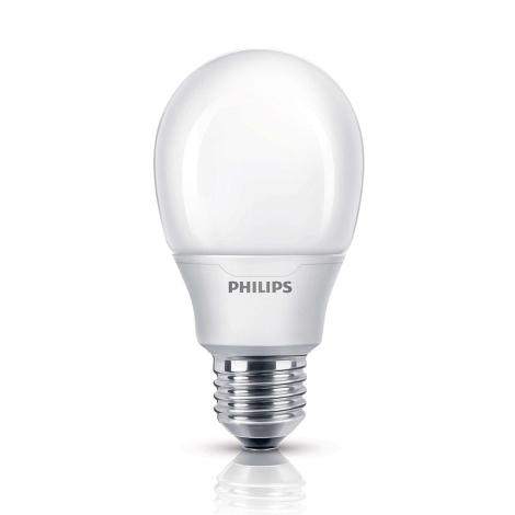 Varčna žarnica Philips E27/8W/230V 2700K