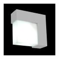 Zunanja stenska svetilka OSLO 1xE27/14W/230V IP44