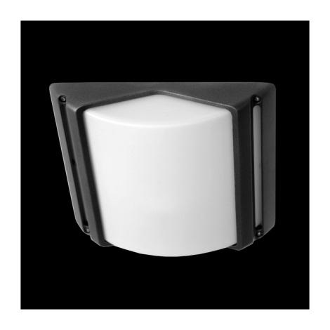Zunanja stropna svetilka CITY 1xE27/60W siva IP44