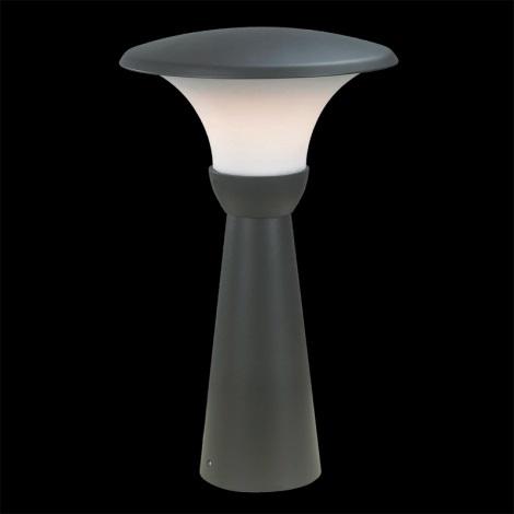Zunanja svetilka VIENNA 1xE27/18W temna siva IP44